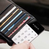 Credit Card Sized Backup Phone