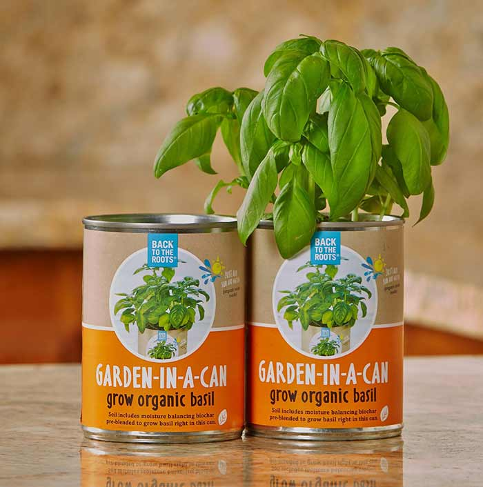Garden in a can this took my money for Gardening gifts for men