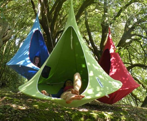 Hanging Cocoon Private Hammock