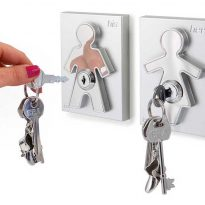 His and Her Wall Key Holders