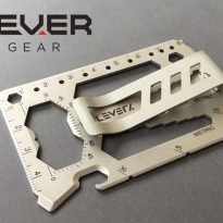 Lever Gear EDC Everyday Carry Multi Tool Card