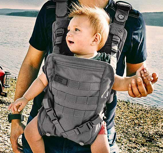 Men S Tactical Baby Carrier This Took My Money