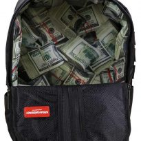 Money Stash Lined Backpack