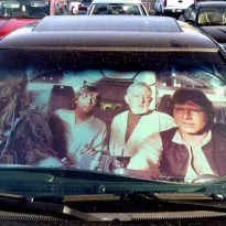 Star Wars Millenium Falcon Sunshade