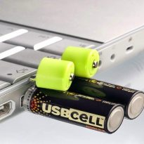 USBCELL USB Rechargable Battery