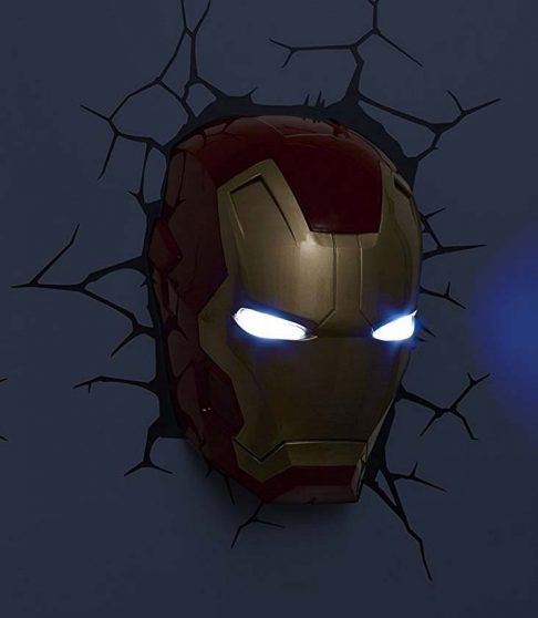 Iron Man 3D Lamp