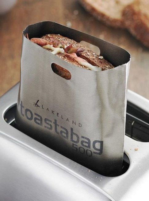 Make Grilled Cheese in Your Toaster with No Mess With Toastabag