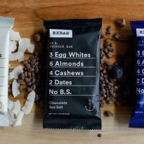 RXBARs – Whole Food Protein Bars