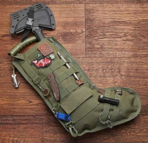 Tactical Christmas Stocking with Molle