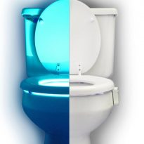 Motion Sensing Toilet Night Light