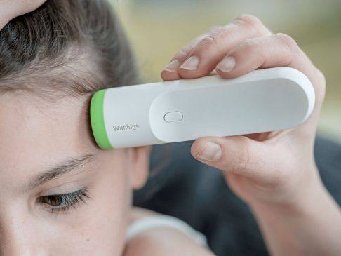 Smart Temporal Thermometer