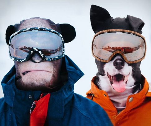 Ultra Realistic Animal Face Ski Masks