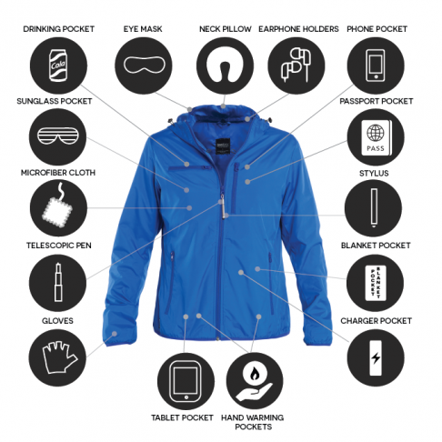 Multi-Function Travel Jacket
