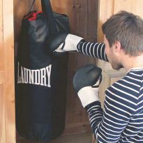 Punch Bag Drawstring Laundry Bag